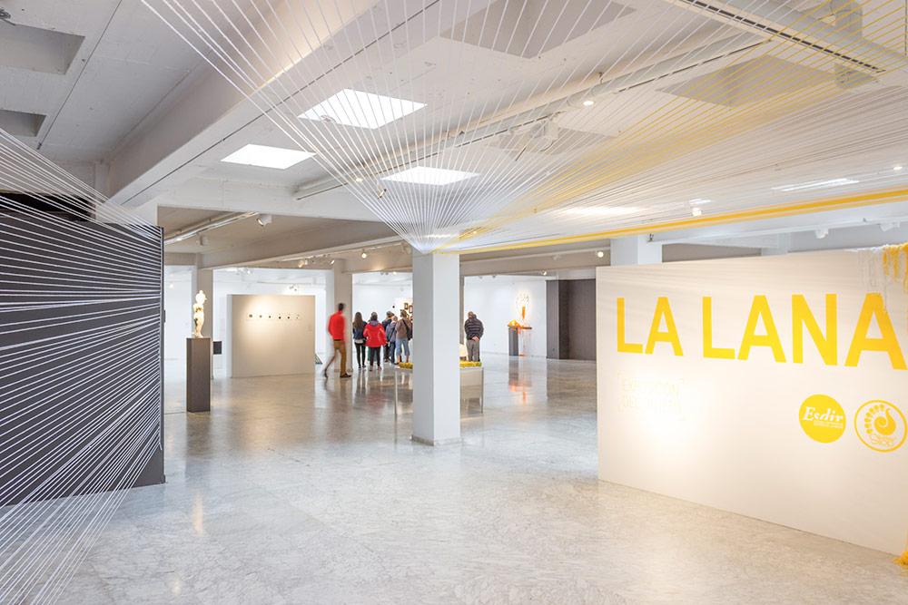 Fotografías de la Exposición del Objeto: La Lana