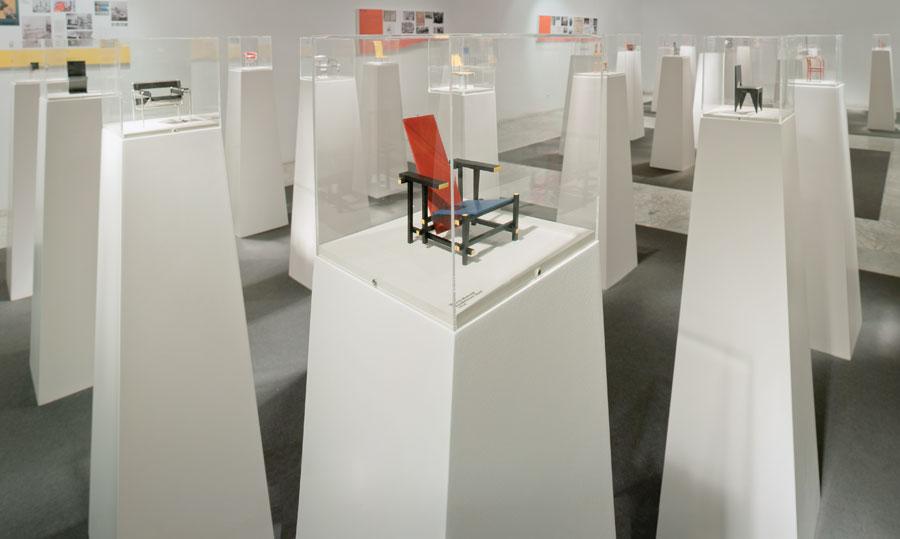 Exposición Vitra Dimensiones del Diseño: Miniatures Collection.