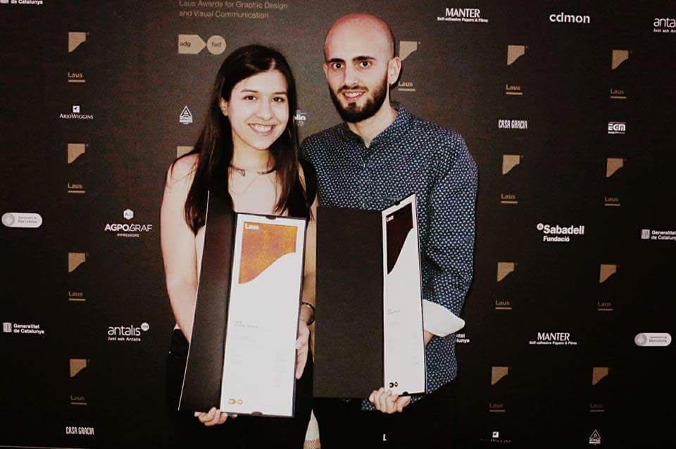 Nerea Simón Baile y Juanan López Madrid galardonados con sendos Laus de Bronce