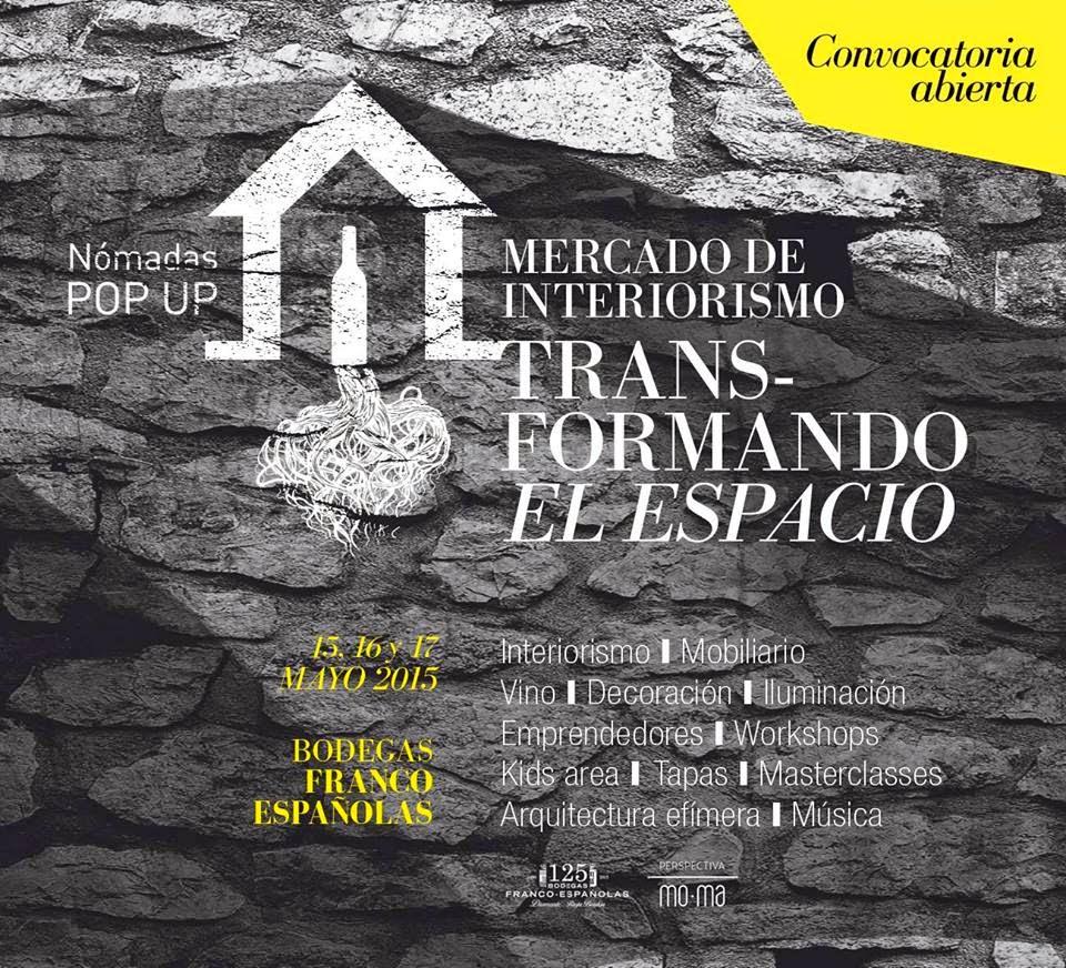 Hoy comienza el MERCADO DE INTERIORISMO en Bodegas Franco Españolas