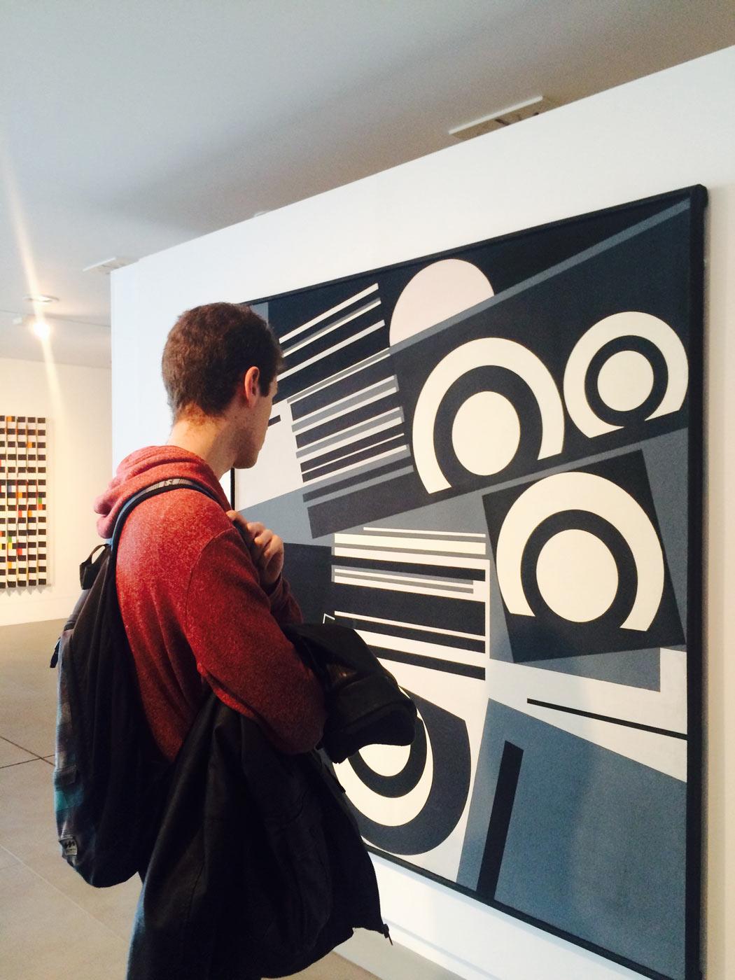 Visita a la exposición de Op Art y Arte Cinético en el museo Würth