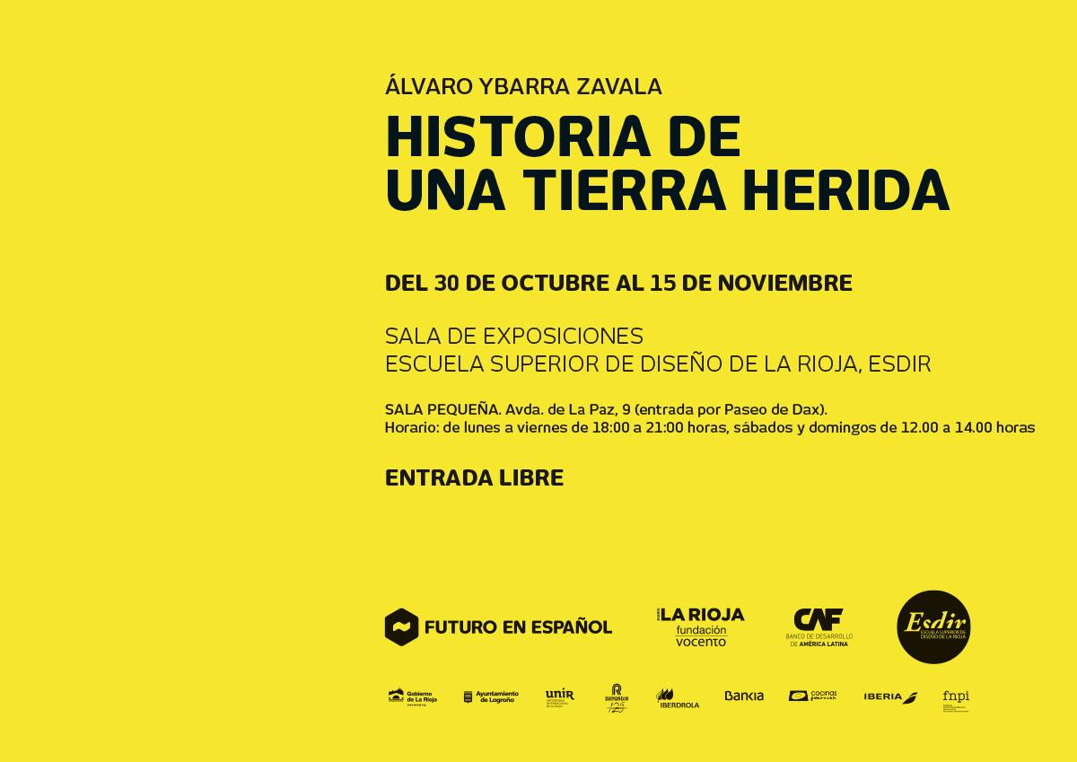 Historias de una tierra herida', exposición de Álvaro Ybarra en la Sala Pequeña