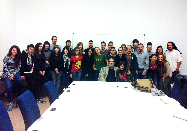 Charla de Juan Barbacil acerca de la comunicación del grupo Freixenet