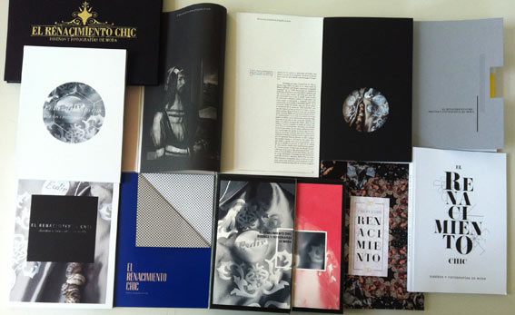 Catálogo para la exposición