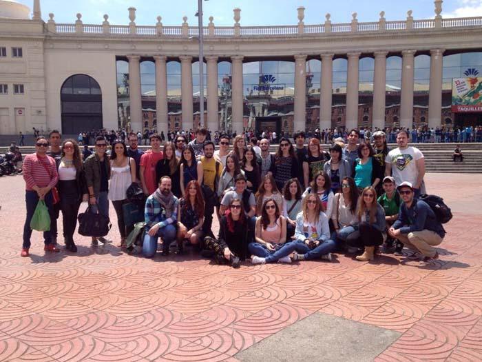 La ESDIR en el 32 Salón Internacional del Cómic de Barcelona