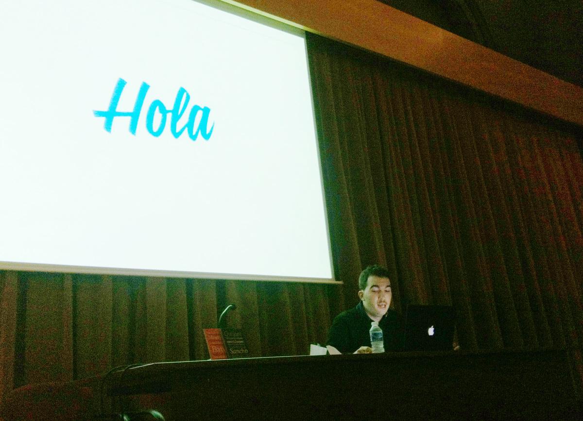Carlos De Toro en la Esdir