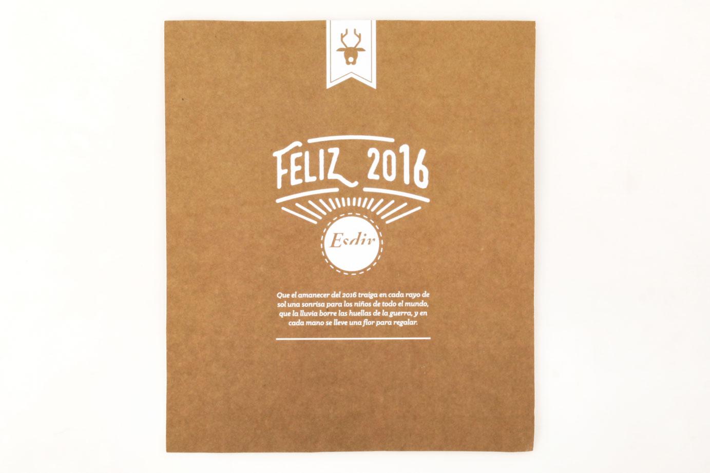 Premiados del concurso Tarjeta navideña 2015
