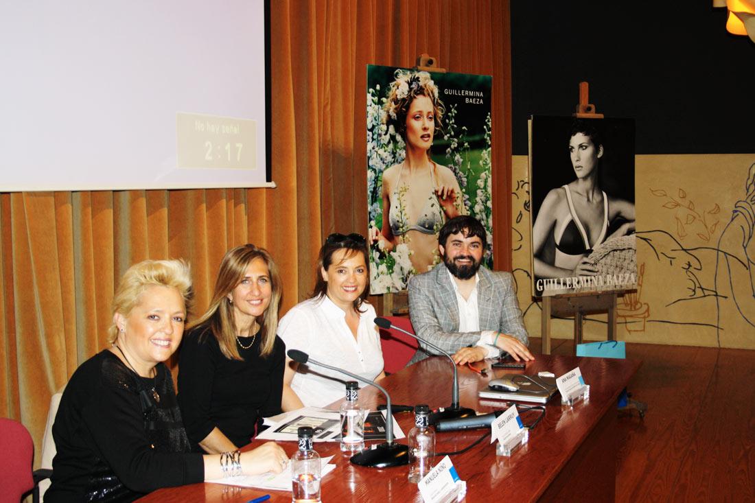 Conferencia de Belén Larruy diseñadora de Guillermina Baeza
