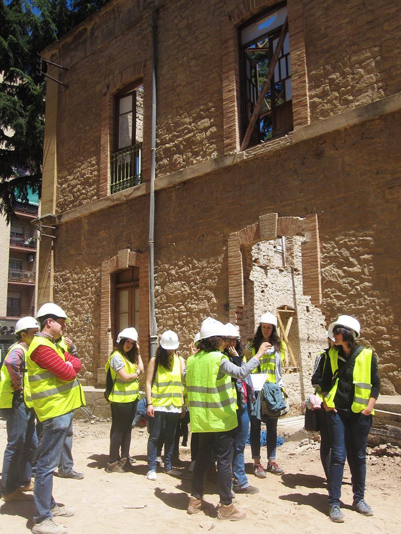 Visita a las obras del Palacio de Justicia de 3º y 4 de Interiores