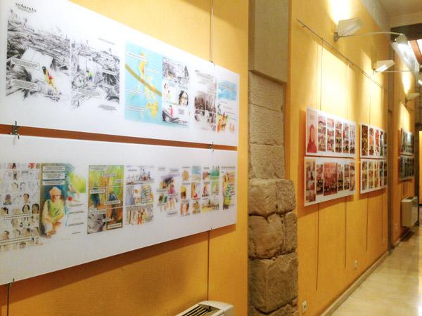 3º de Diseño Gráfico visita la exposición