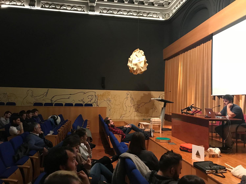 Presentación de proyectos Open Design y colaboración con Carpintería y Mueble del Rey Don García de Nájera