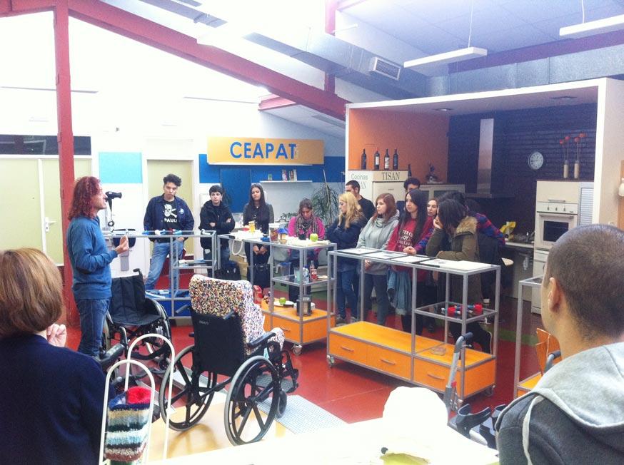 2º de Producto visitó el CRMF