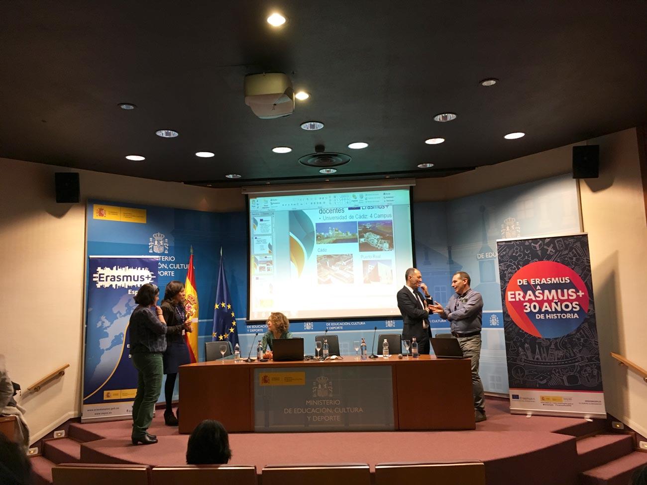 JORNADAS ERASMUS+ EN MADRID