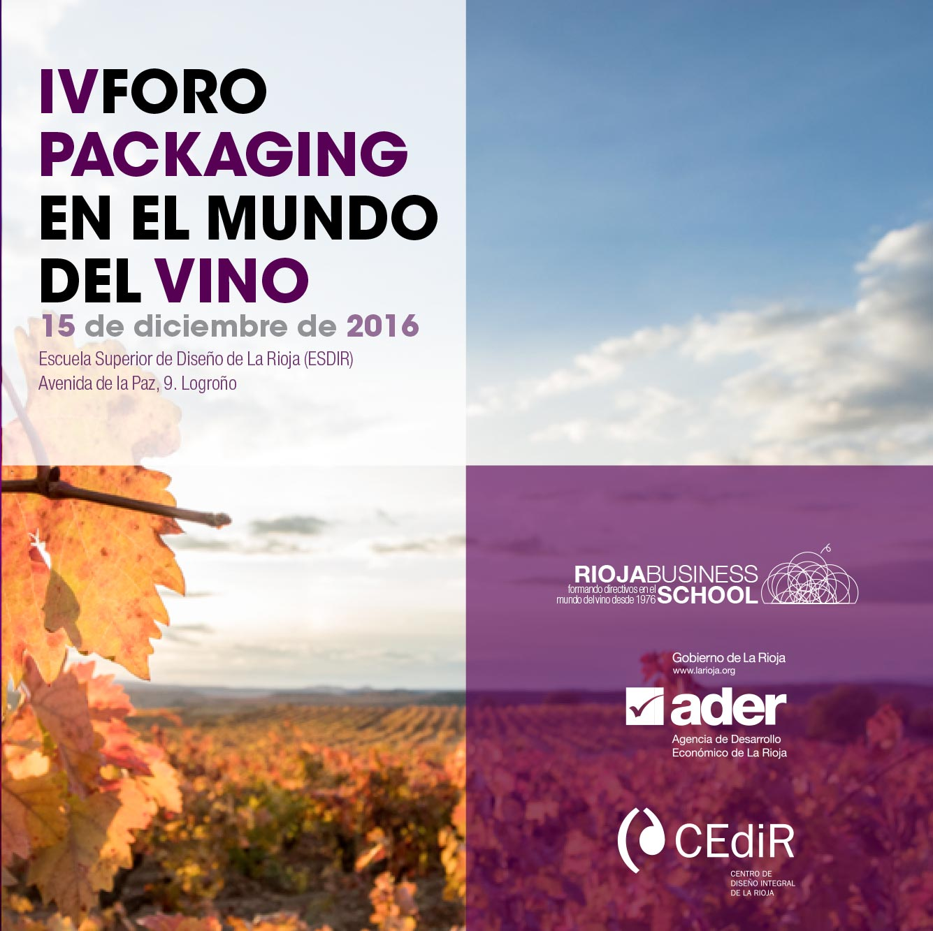 IV Foro Packaging Vino