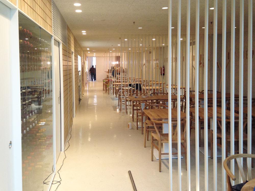 visita a las obras del restaurante catedral esdir