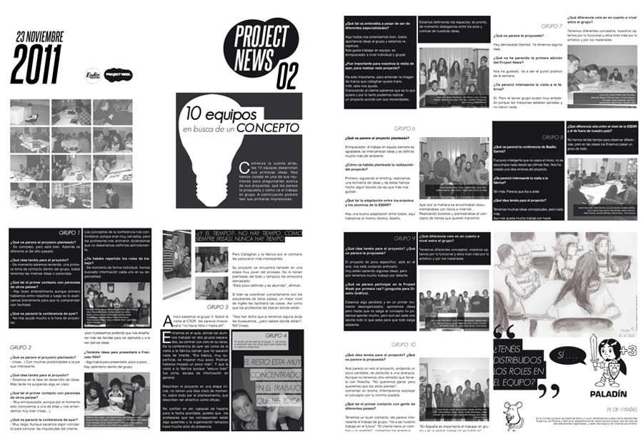Project News 2. 2011