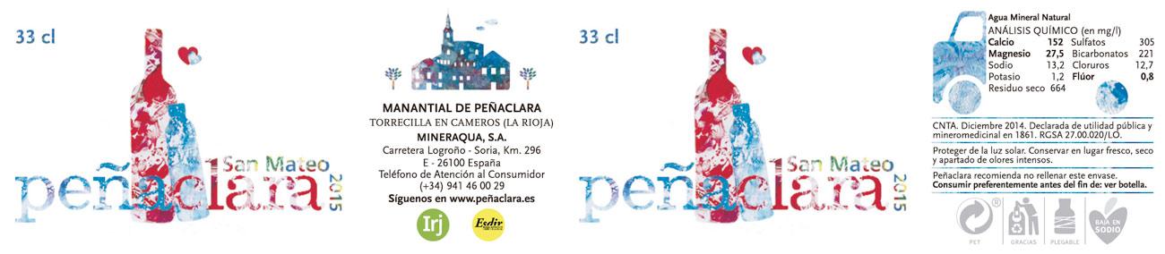 Entregados los premios del VII Concurso de etiquetas Peñaclara 2015