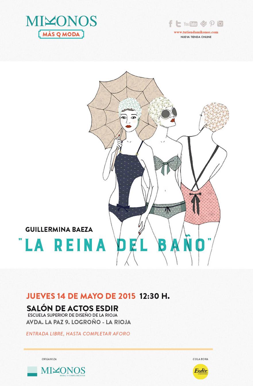 El jueves conferencia de la diseñadora de moda Belén Larruy
