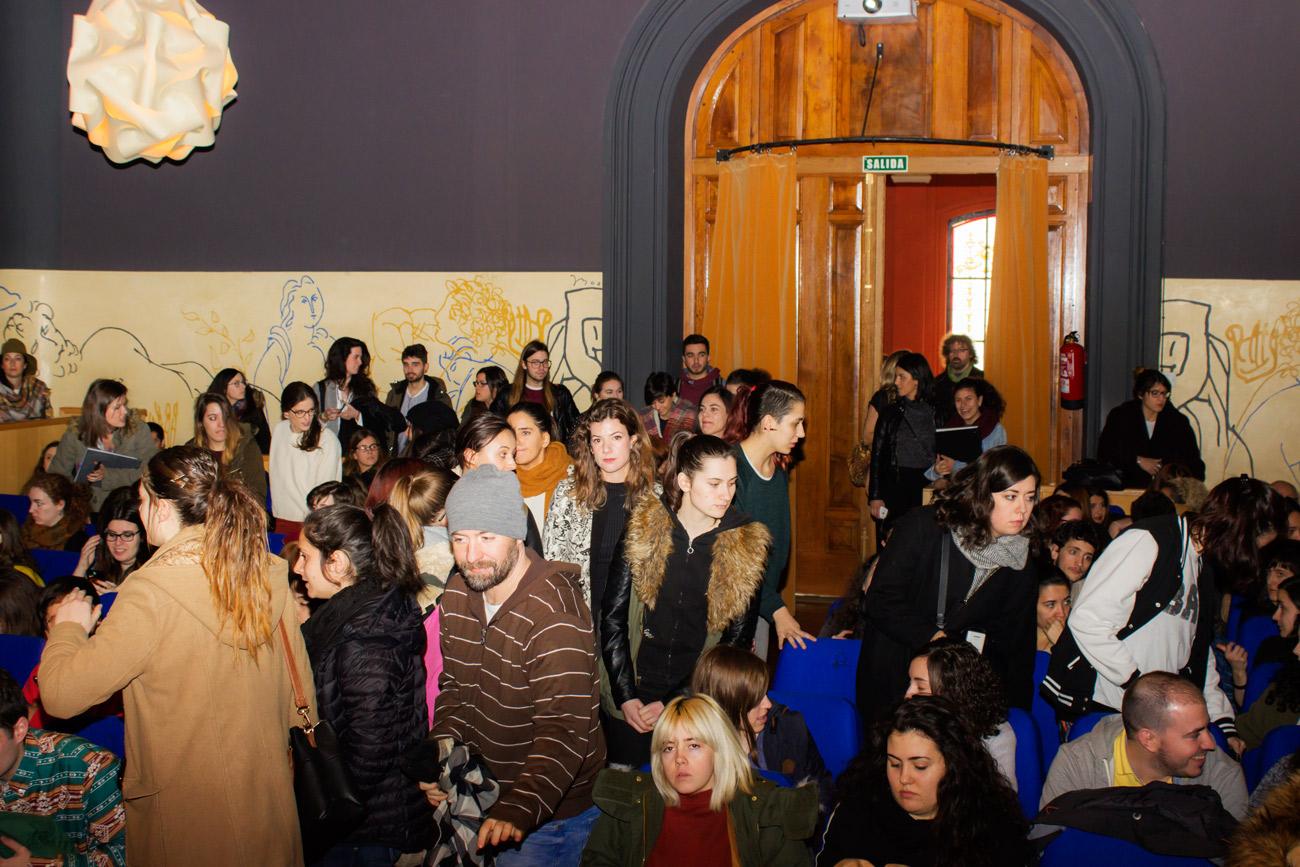 Conferencia de Paula Bonet en la Esdir
