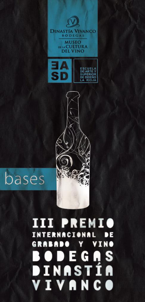 Palmarés del III Premio de Grabado y Vino Bodegas Dinastía Vivanco