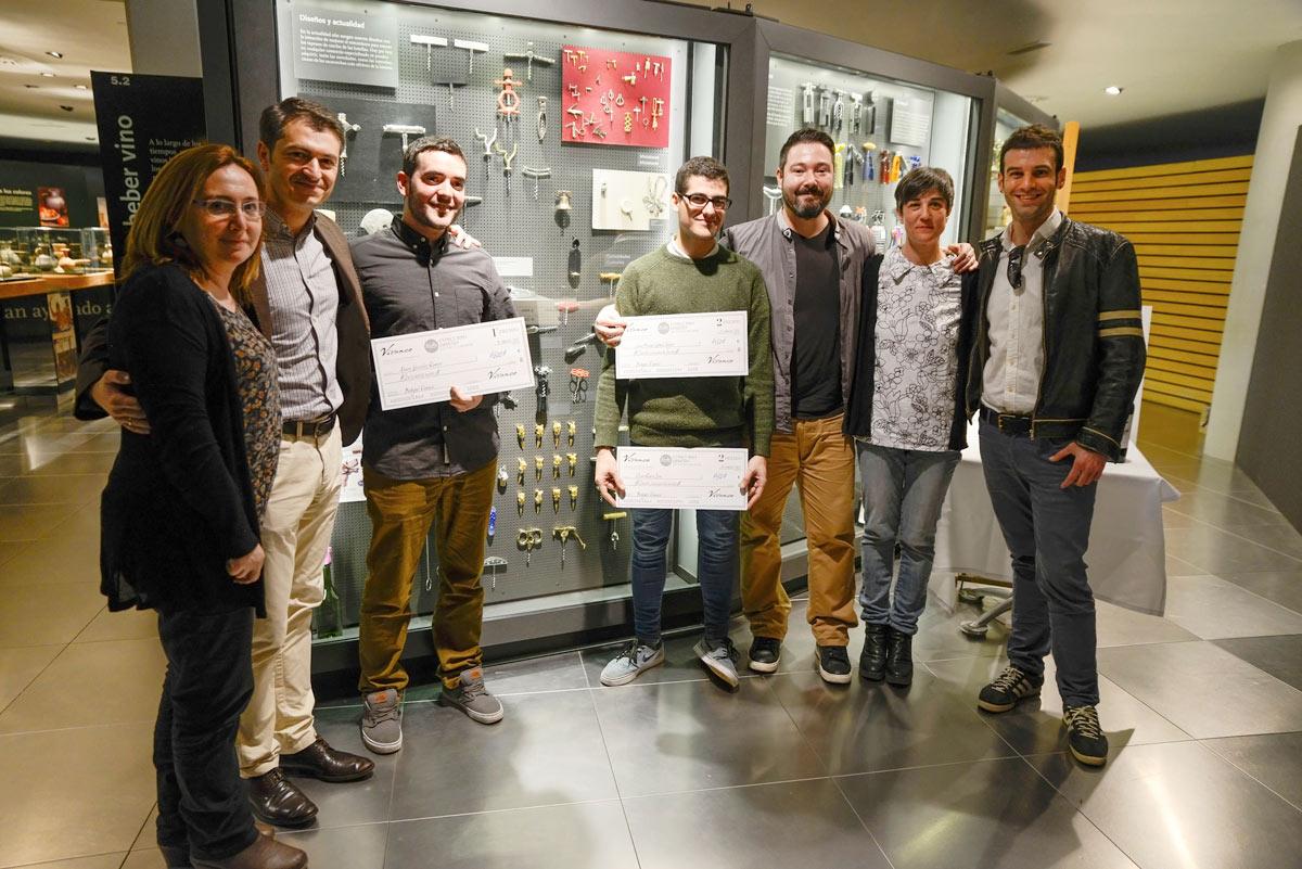 Entrega de premios Diseño de un sacacorchos Vivanco-Esdir