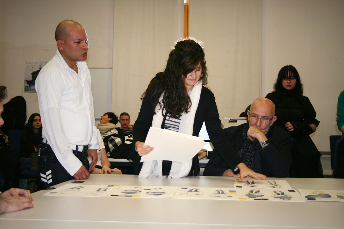 Sesión de corrección con Antonio Miró