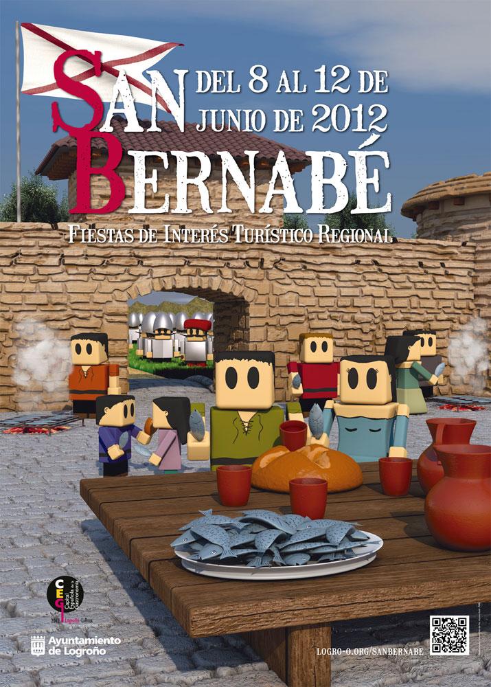 Cartel para San Bernabé 2012