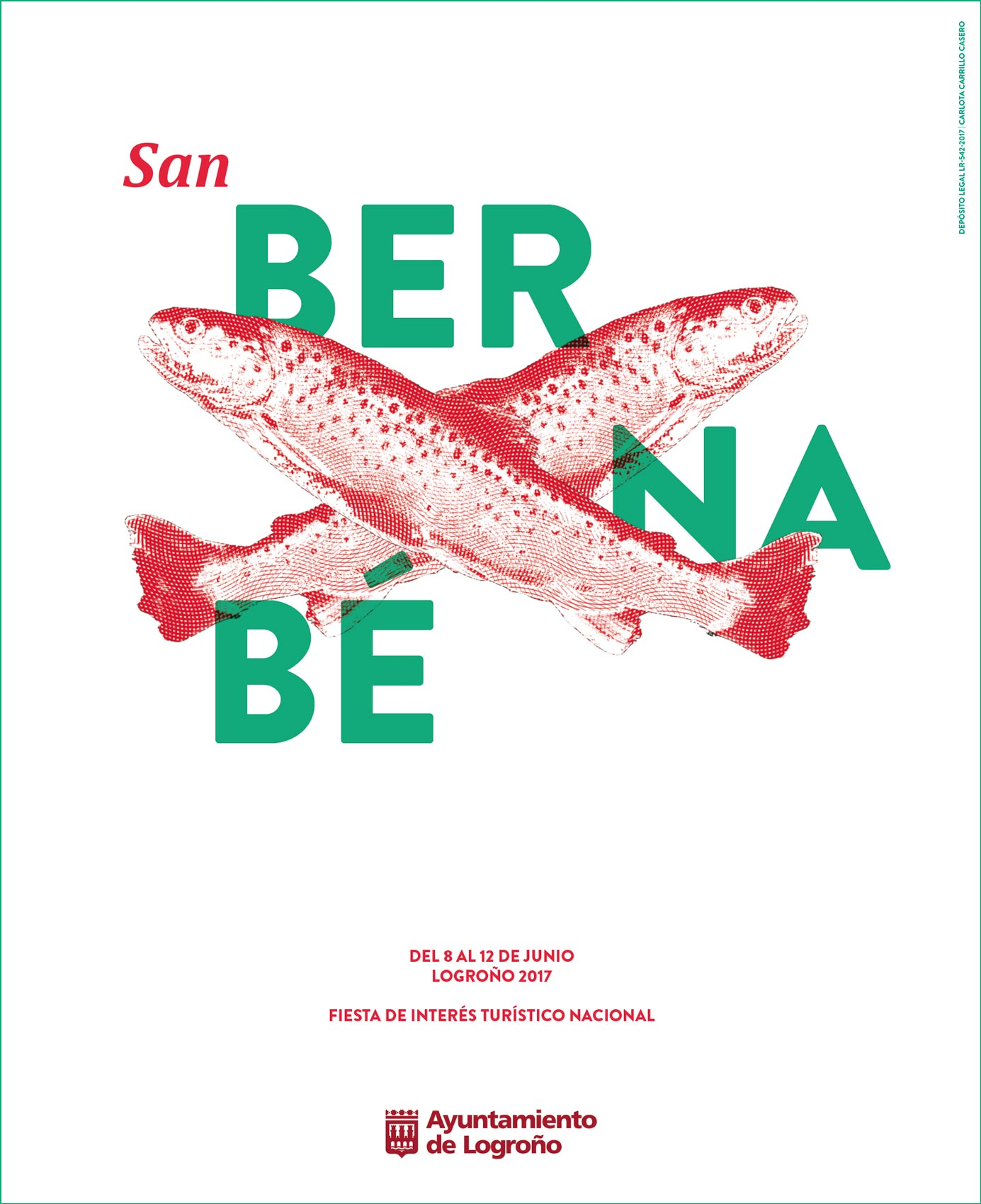 Carlota Carrillo Casero diseña el cartel de San Bernabé