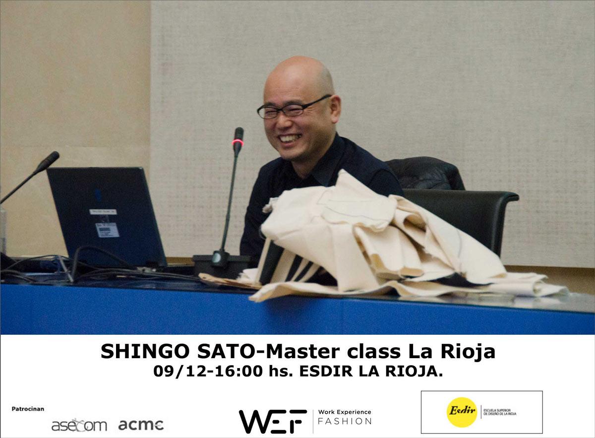 Master Class de Shingo Sato