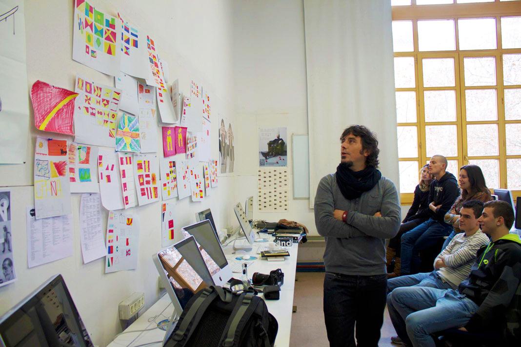 Taller de diseño gráfico con Eduardo del Fraile