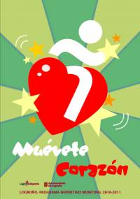 Cartel -Muévete corazon- Programa deportivo municipal 2010-11