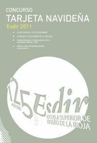 CONCURSO TARJETA NAVIDEÑA DE LA ESDIR 2011.