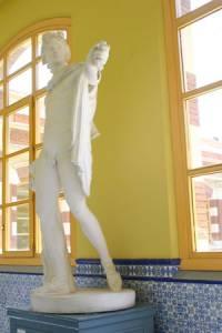 Gipsoteca de la EASD. Nuestros pasillos.