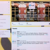 Twitter de la Esdir