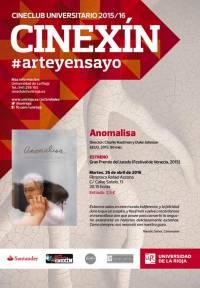 """Anomalisa"", Cineclub Cinexín. Filmoteca Rafael Azcona"