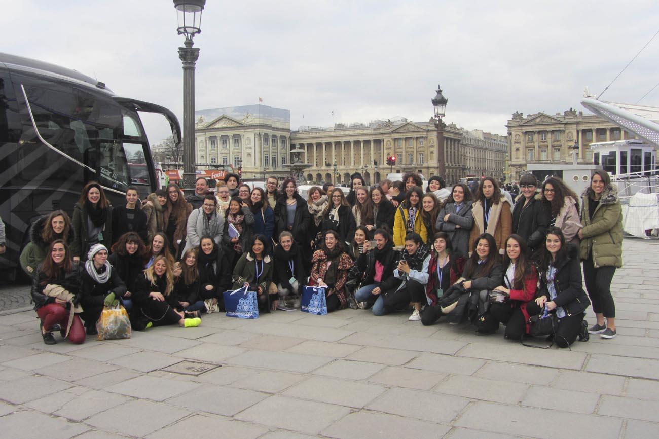 Viaje de estudios a París