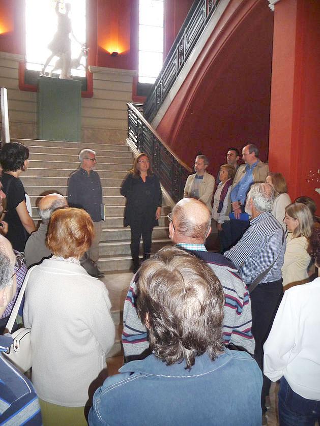 Visita de la Fundación del COAR a la Esdir