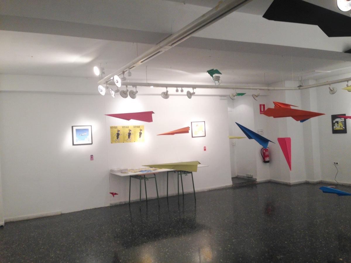 Exposición Voyage en Sala Pequeña