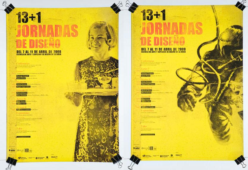 XIV (13 +1) Jornadas de Diseño en la EASD Rioja